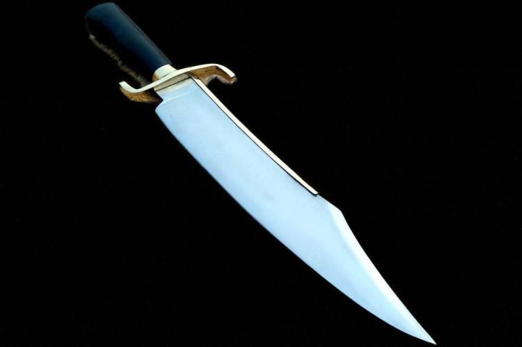 Damascus Knife Making Custom Handmade - 19
