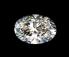 Bianco 9 Carat Oval Cut Diamond