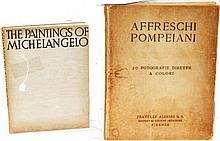 PAINTINGS OF MICHELANGELO & AFFRESCHI POMPEIANI