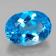 11.99ct Swiss Blue Topaz~ sixe 15.73 x 11.59 x 8.5