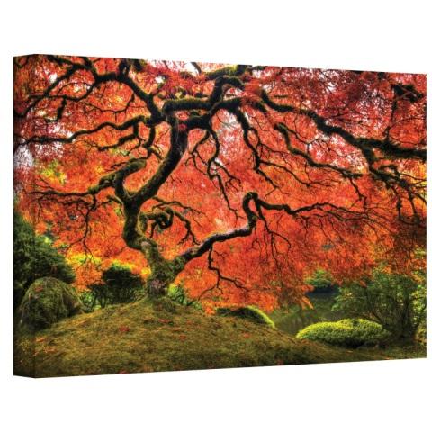 John Black ''Japanese Tree'' Canvas Art