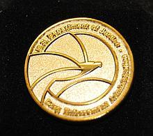U.S. DEA Gold Seal Lapel Pin