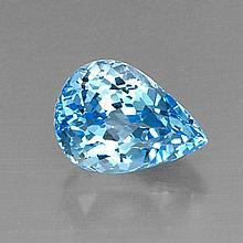 8.33ct Swiss Blue Topaz~ size 13.89 x 10.07 x 8.57