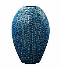 Ceramic Peacock Vase