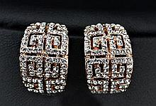 Classic Design Swarovski Crystal & Rhinestone Clip