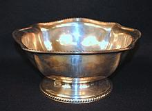 Reed and Barton US Navy silverplate punch bowl