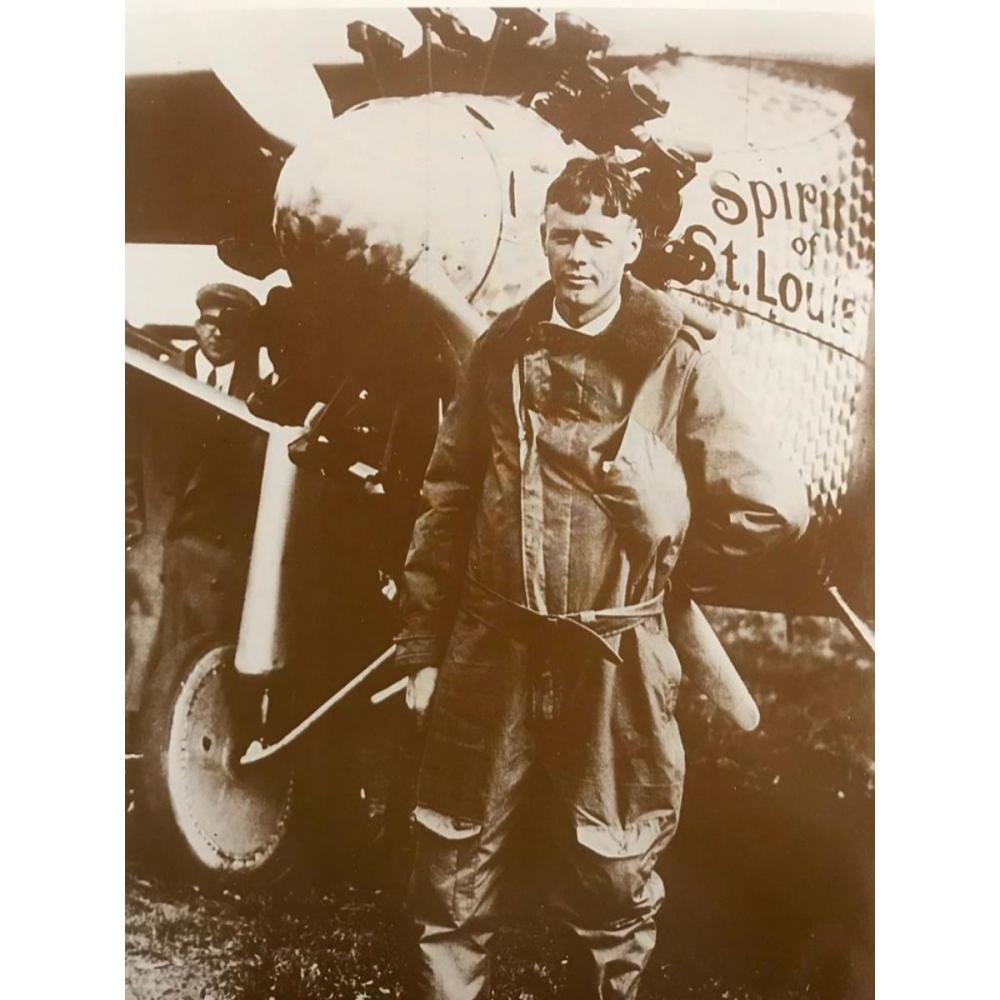 Charles Lindbergh Spirit of St Louis Airplane Photo Print