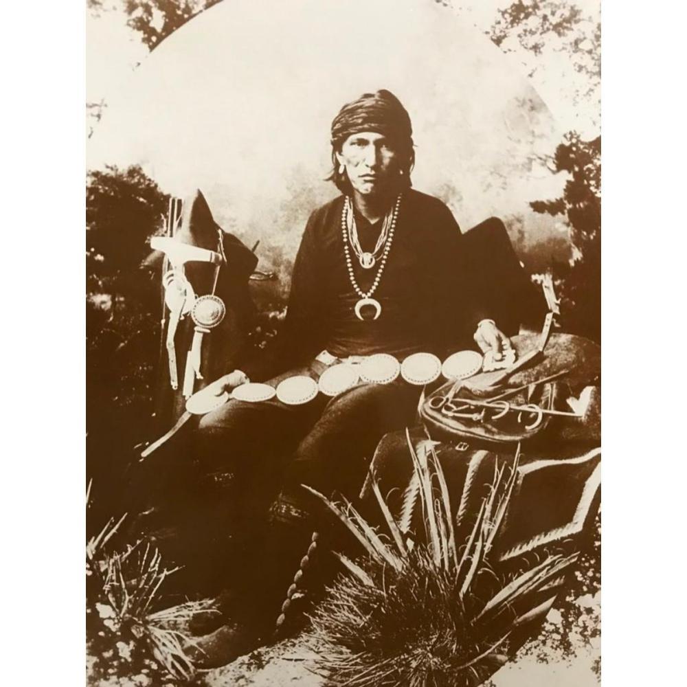 Native American History, Navajo Silversmith Photo Print