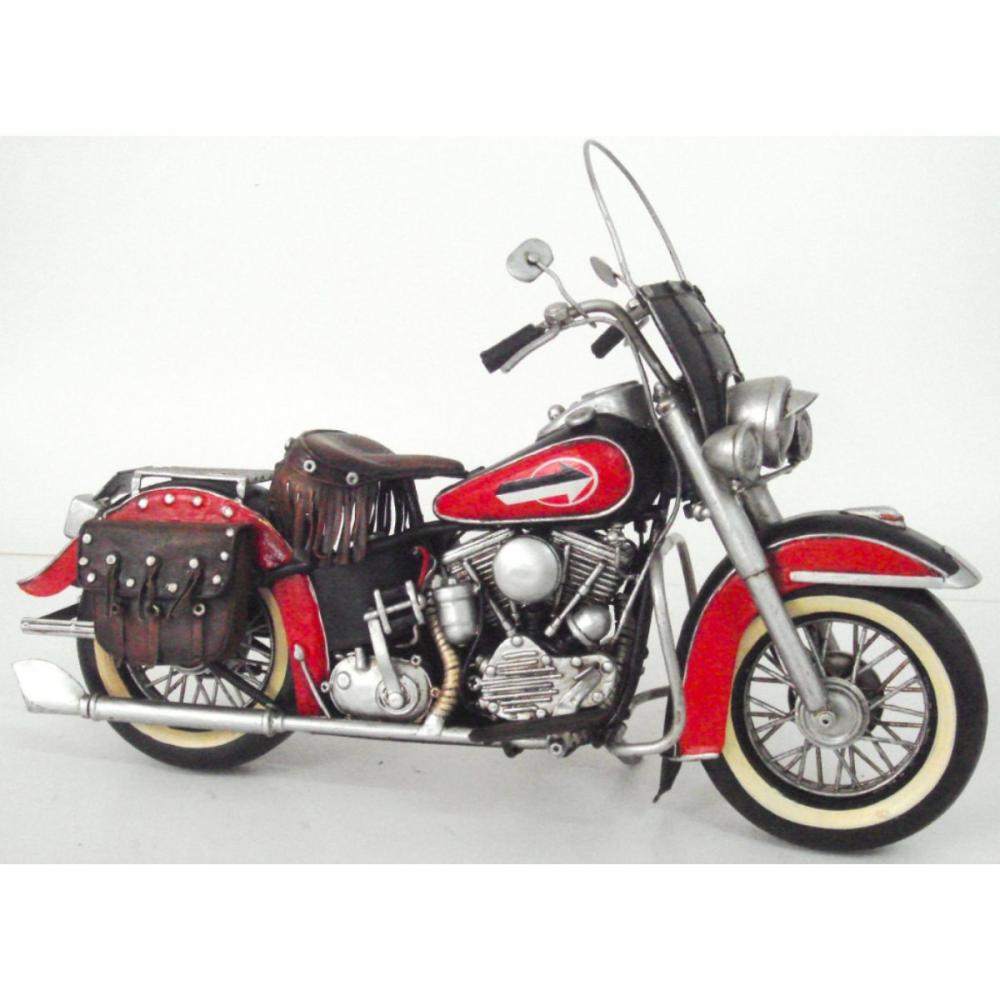 1952 Harley Davidson Hand-crafted Collectible Model Motorcycle
