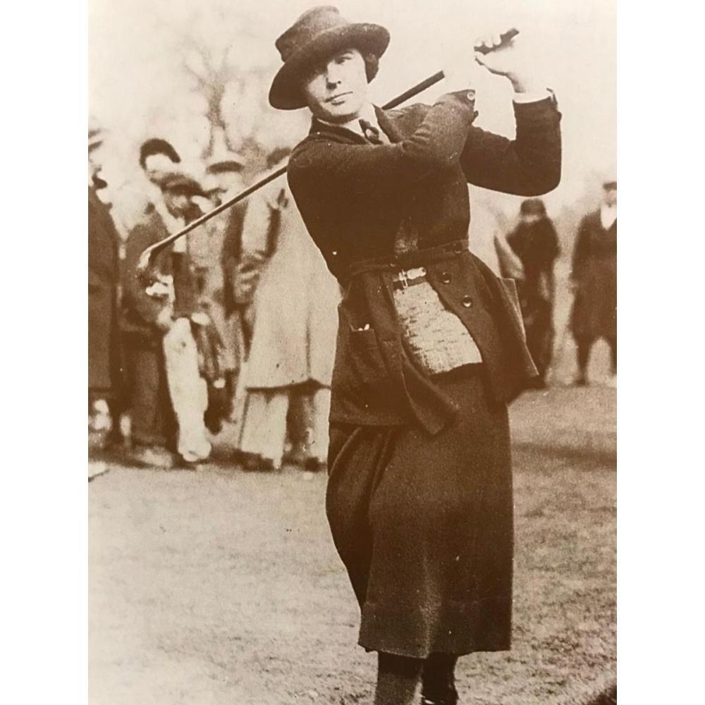 Women's Golf Champion, Photo Print
