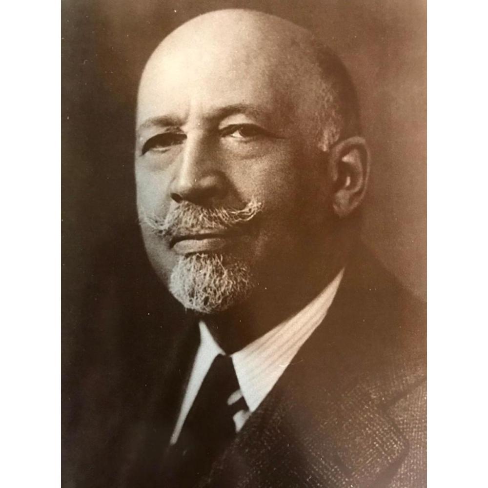 African American NAACP Civil Rights Leader, W.E.B. Dubois Photo Print