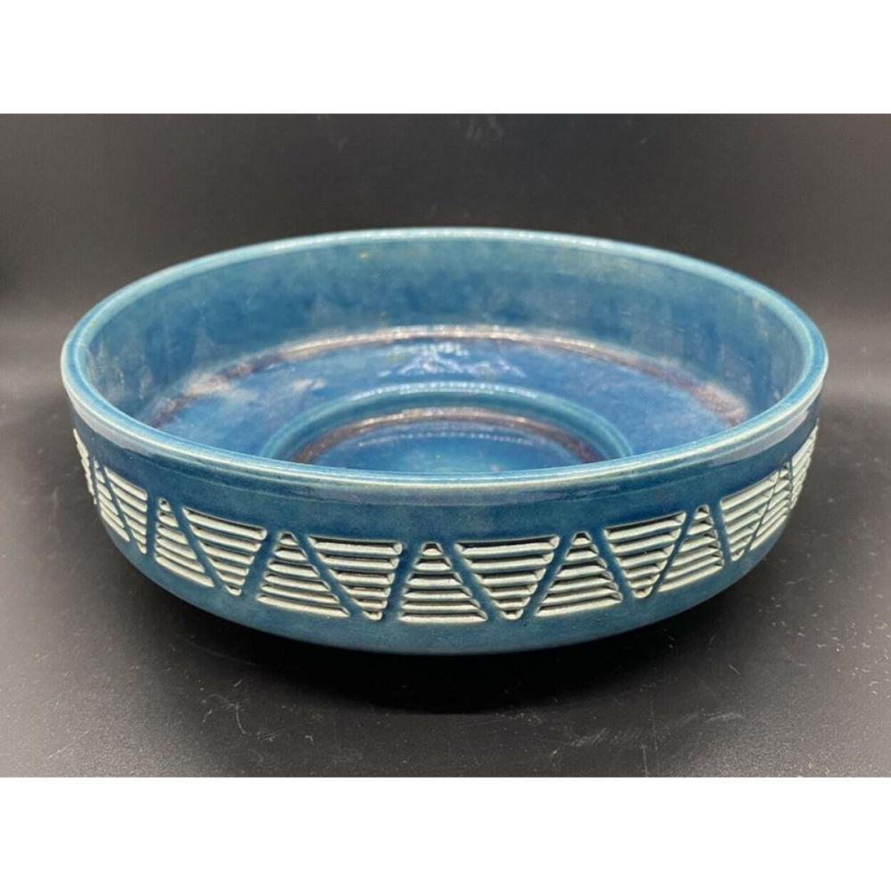 Mid Century Atomic Style Ceramic Planter Bowl