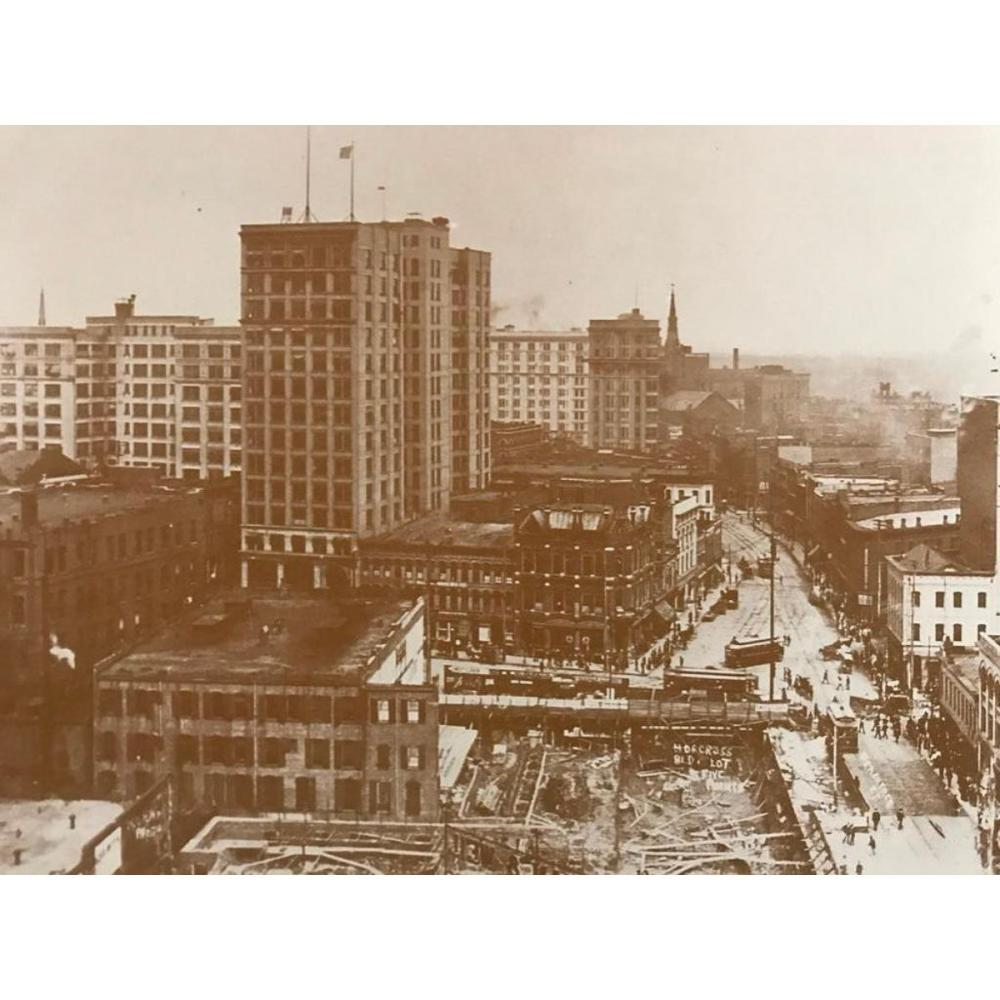 Early 1900's Five Points Atlanta Georgia Photo Print