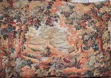 Large French Tapestry, Landscape Scene