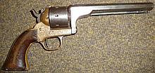 19th Century American Seven Shot Rimfire Revolver