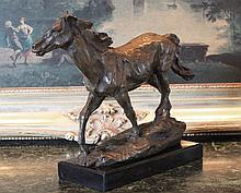 Equestrian Bronze Sculpture
