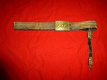 CIVIL WAR GENERAL`S BUCKLE ON BELT
