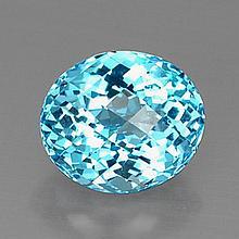 13.29ct Swiss Blue Topaz~ size 14.53 x 12.39 x 10.