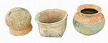 Group of 3 Early Meso-American Vessels.
