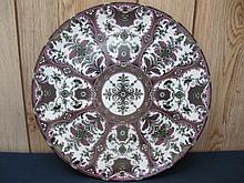 Beautiful Persian Design Large Plate Charger