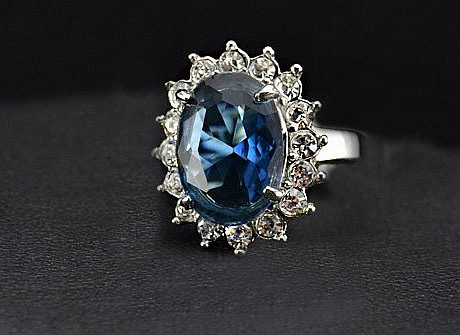 Princess Dianas Style Engagement Ring