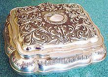 Art Nouveau Style Trinket, Jewelry Box