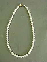 Ilias Lalanounis Peal Necklace 18ct clasp
