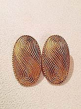 Vintage 1970s Yves Saint Laurent Earrings.