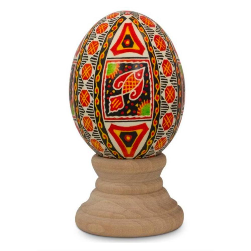 Real Ukrainian Pysanky Egg