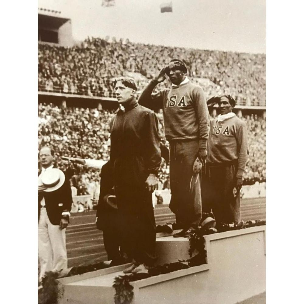 African American Olympic Games History, Jesse Owens