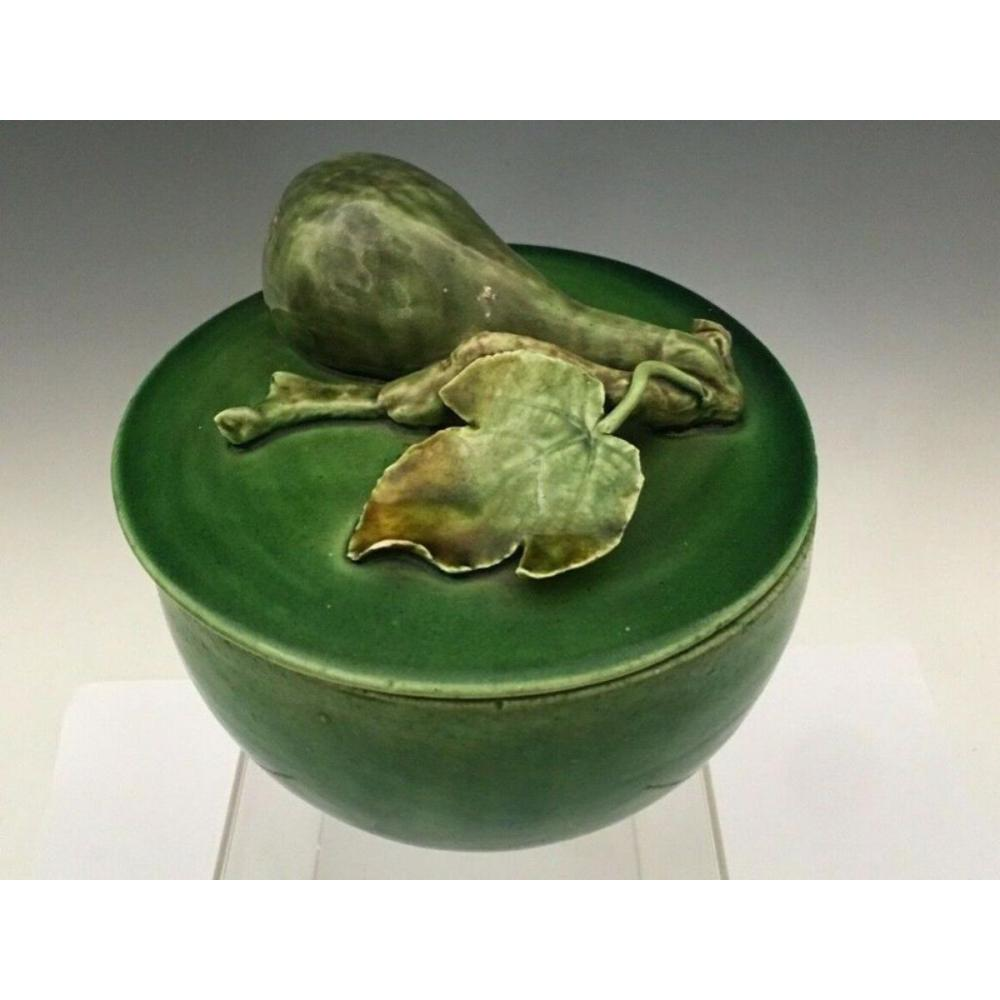 Bordallo Pinheiro Portugal Pottery Fig Box