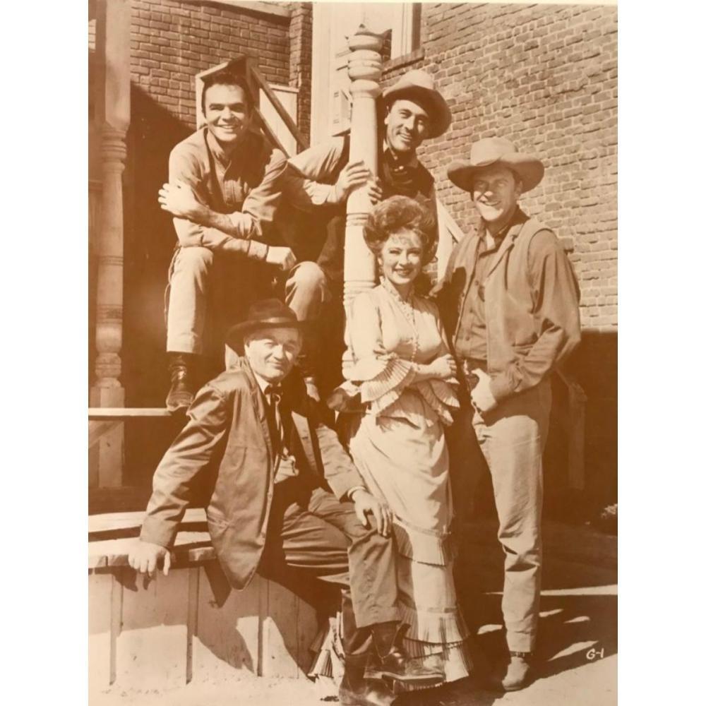 Cast of Gunsmoke, Western Television Series, Photo