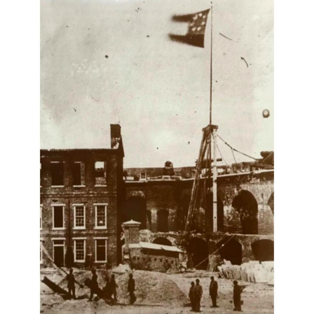 Fort Sumter Interior c.1861 Photo Print