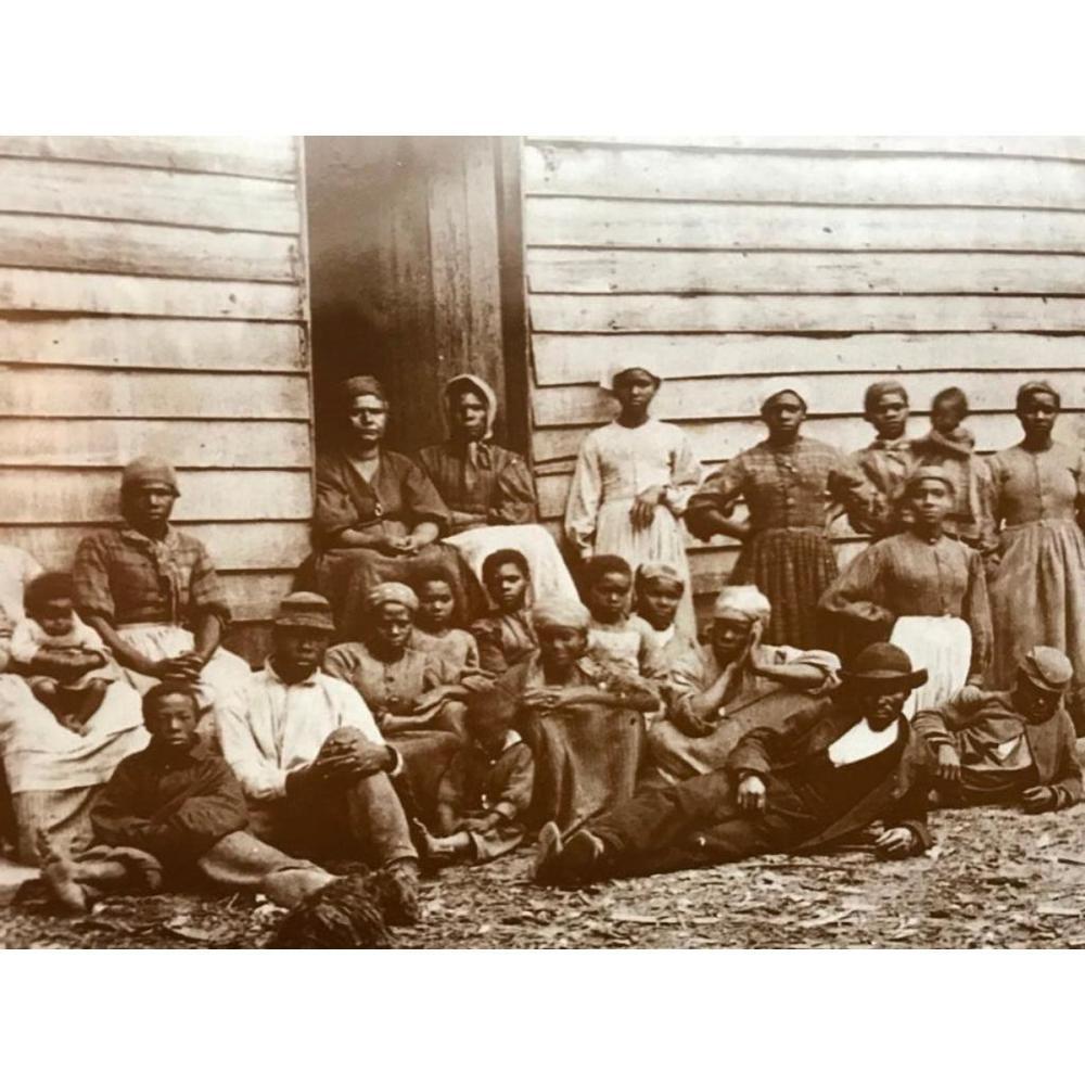 African American History, Slaves, Civil War Plantation