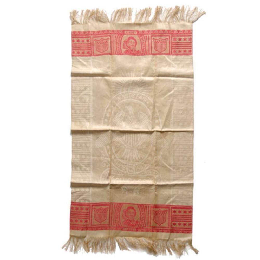 1893 Chicago World's Fair Columbus Linen Tablecloth