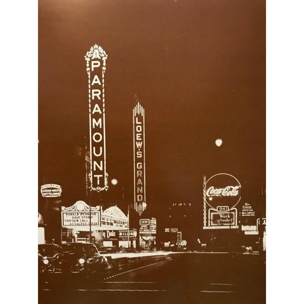Vintage Loew's Grand Theatre, Atlanta Photo Print