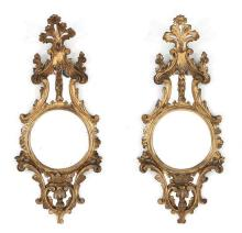 Pair of Antique French Rococo Mirrors