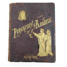 c1880 Dante Purgatory & Paradise Dore Book
