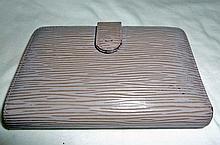 LOUIS VUITTON EPI Leather Lavender wallet