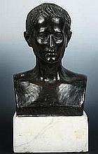 BRONZE PORTRAIT BUST - Ca 1890, Belle Epoch Bust