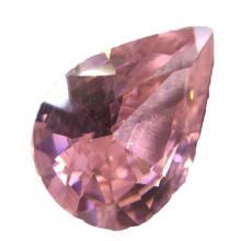 14ct Pear Shaped Pink BIANCO Diamond
