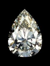 23 CT. Pear Cut BIANCO Diamond