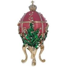 1898 Lily of the Valley Faberge Egg 6.25