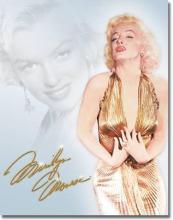 Monroe - Gold Dress