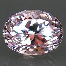 11.50ct. PINK KUNZITE Brilliant Cut