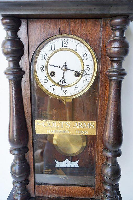 Colt Firearms Clock