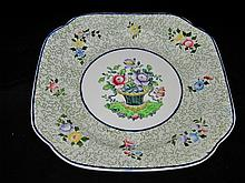 Copeland Spode - Square Server Basket & Flowers