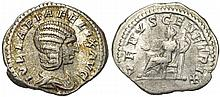 Ancient Roman Julia Domna Coin