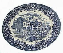 Ravensdale Pottery Staffordshire Oval Platter