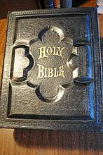 Large Holy Bible Illustrated.